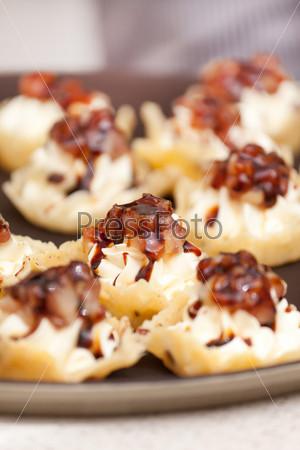 Десерт с сыром маскарпоне