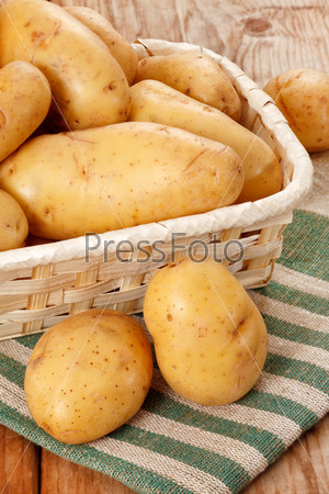 Фотография на тему Свежий картофель