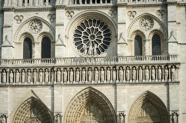 Фотография на тему Элементы собора Нотр-Дам