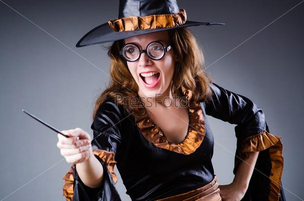 Ведьма в концепции Хеллоуина