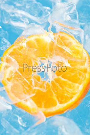 Апельсин и лед