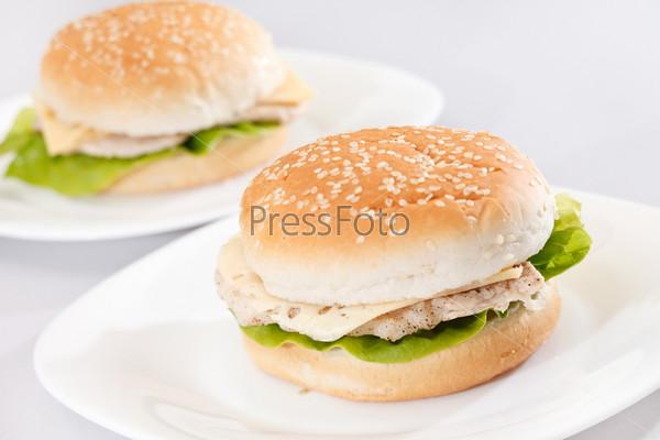 Фотография на тему Куриный сэндвич