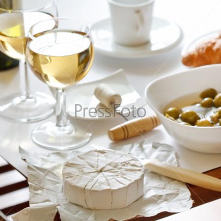 Фотография на тему Вино и сыр