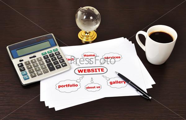 Фотография на тему Схема веб-сайта