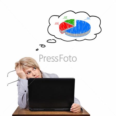 Фотография на тему Бизнес-леди с проблемами