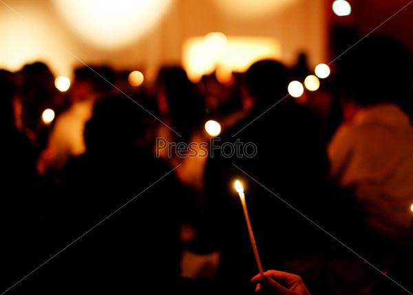 Фотография на тему Зажженные свечи