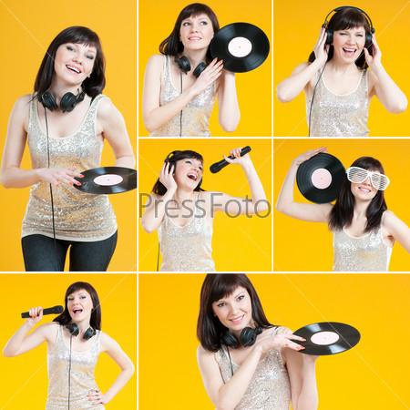 Я люблю звуки музыки, коллаж