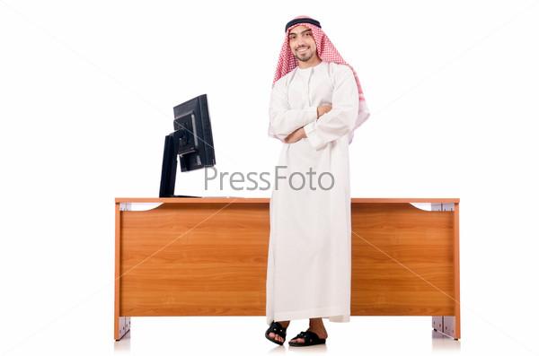 Араб у стола