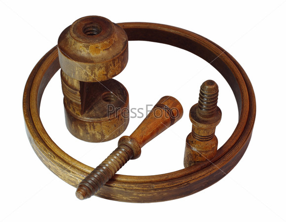 Детали деревянного каркаса