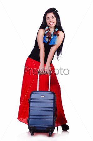 Фотография на тему Женщина готова к летним каникулам