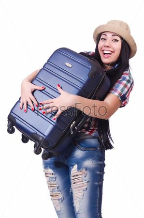 Женщина готова к летним каникулам