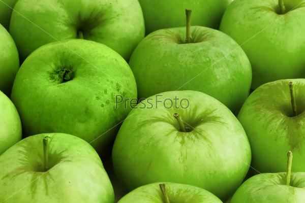 Яблоки крупным планом