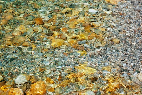 Дно с камнями