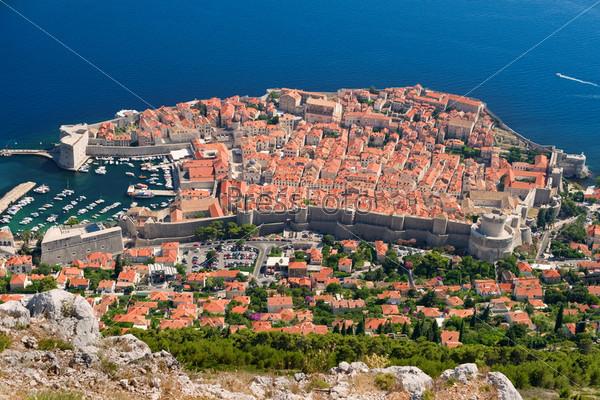 Фотография на тему Город Дубровник в Хорватии