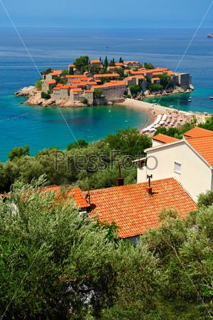 Черногория, остров Свети-Стефан