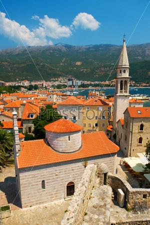 Фотография на тему Старый город Будва в Черногории