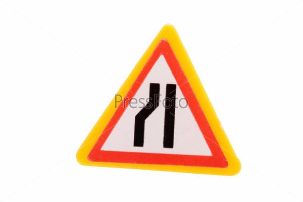 Игрушечный дорожный знак