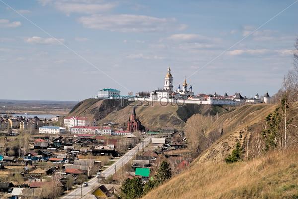 Вид на Кремль, Тобольск