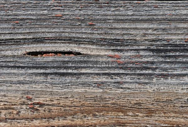 Старая покрашенная древесина