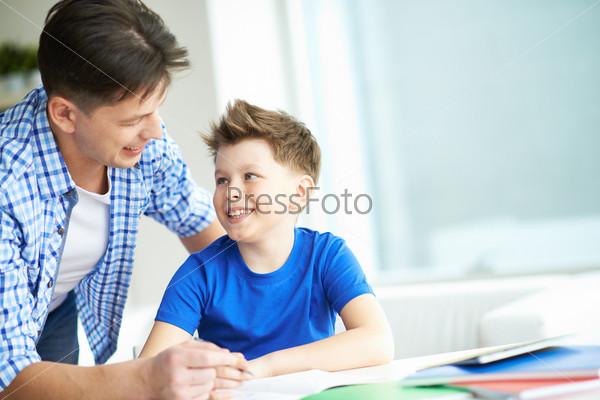 Фотография на тему Разговор с сыном