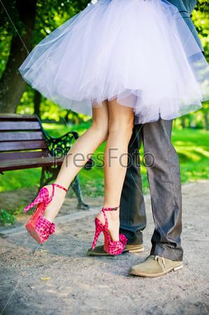 Ноги жениха и невесты
