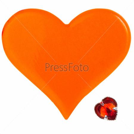 Фотография на тему Два сердца