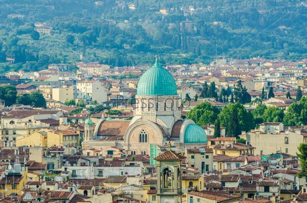 Вид Флоренции днем