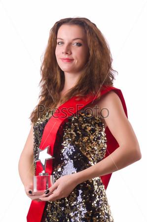 Женщина выиграла конкурс красоты