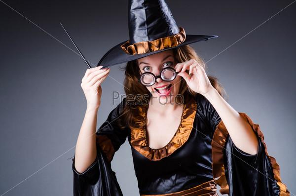 Ведьма, Хеллоуин