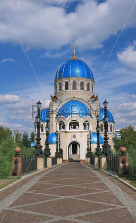 Храм Троицы Живоначальной на Борисовских прудах