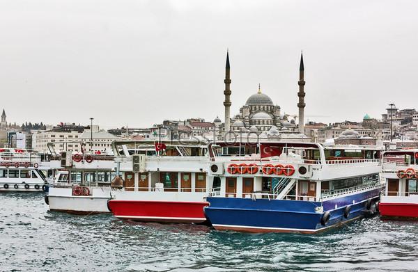 Вид Новой мечети, Стамбул