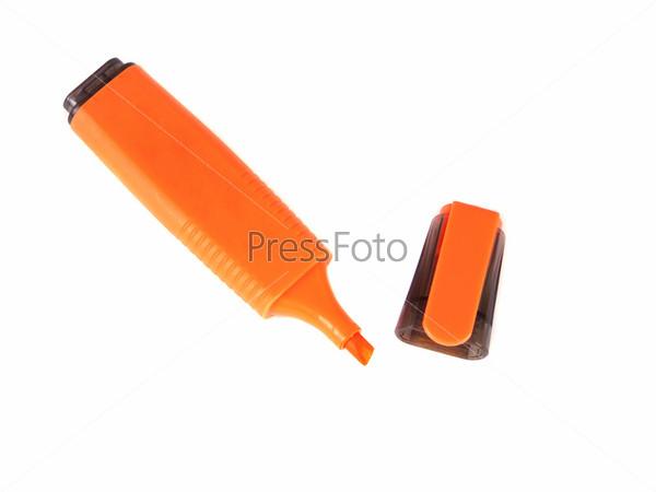 Фотография на тему Оранжевый маркер