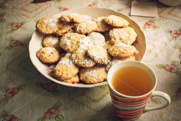 Фотография на тему Овсяное печенье