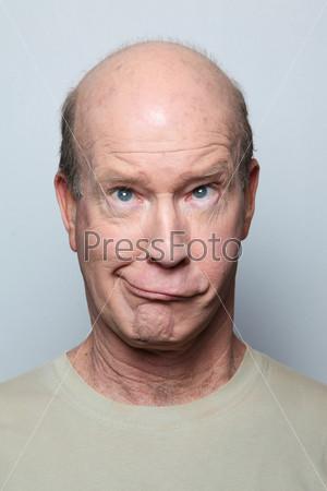 Фотография на тему Гримасничающий мужчина