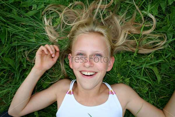 Волосы и улыбка