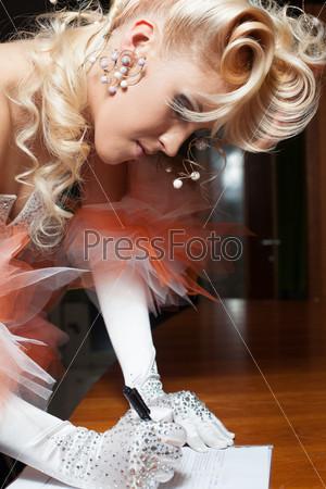 Фотография на тему Элегантная невеста