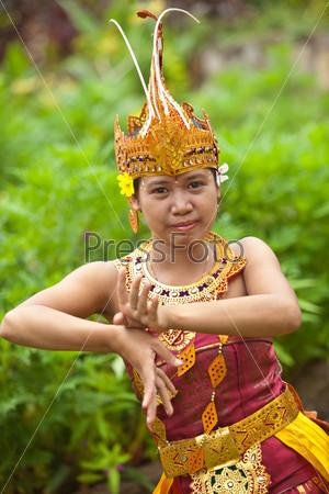 Фотография на тему Балийская танцовщица