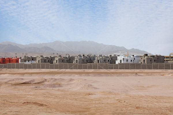 Строительство новых зданий в Египте