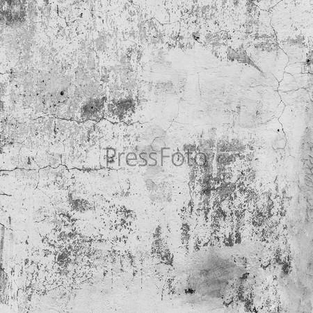 Фотография на тему Грязная серая стена