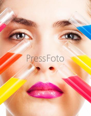 Различные цвета для макияжа