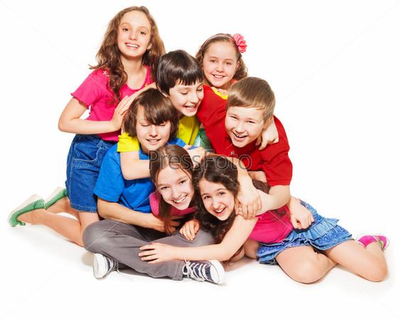 Фотография на тему Смеющиеся дети
