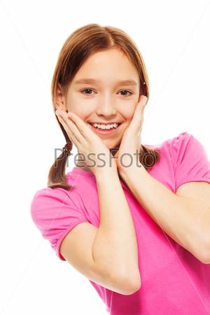 Фотография на тему Красивая радостная улыбка