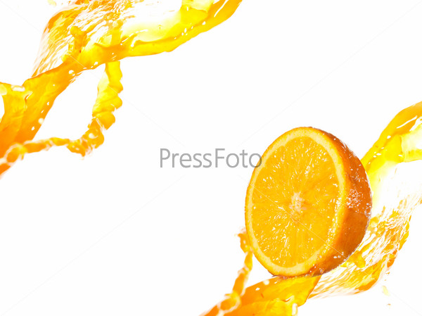 Фотография на тему Апельсиновые брызги