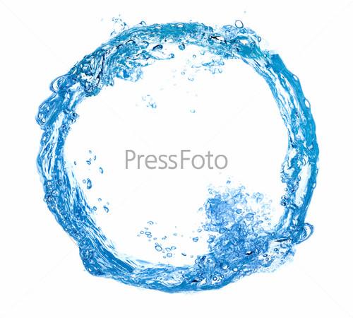 Фотография на тему Круг из брызг воды