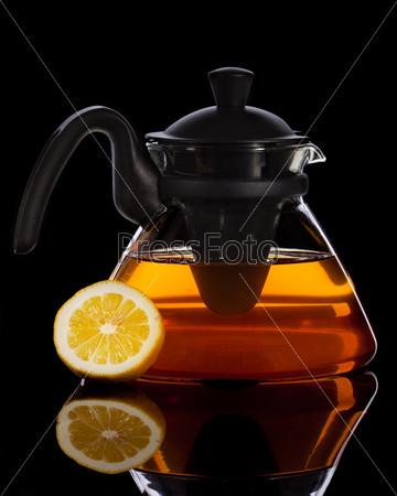 Свежий чай с лимоном