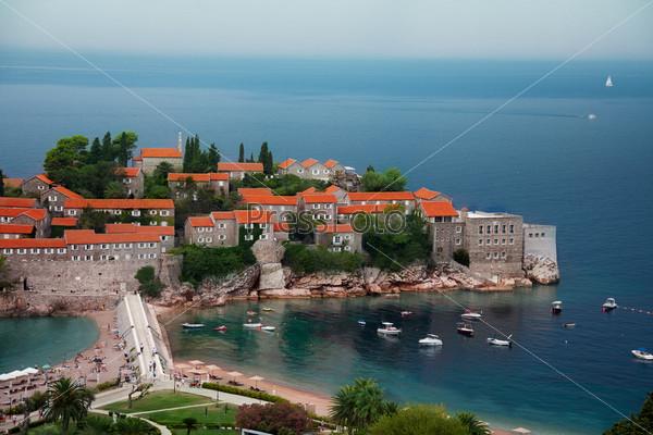 Фотография на тему Полуостров Святого Стефана в Черногории