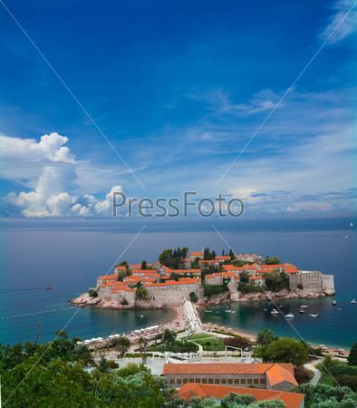 Полуостров Святого Стефана в Черногории