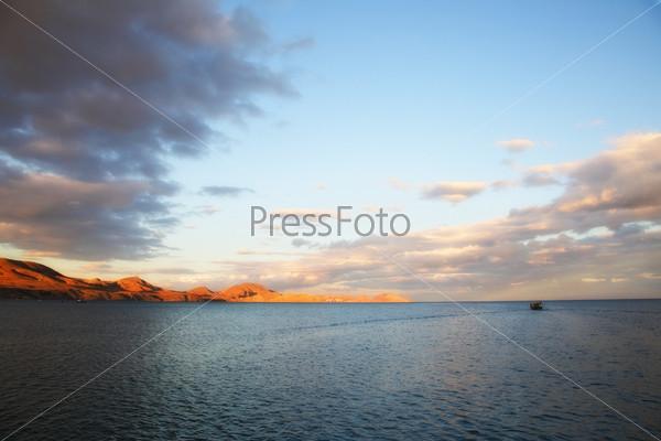 Морской пейзаж. Черное море. Украина