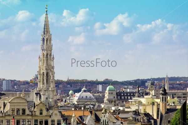 Фотография на тему Вид на город Брюссель