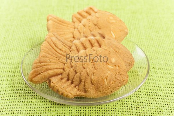 Фотография на тему Фигурное печенье на блюдце